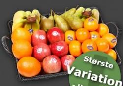 Stort udvalg af frisk og velsmagende frugtkurve til arbejdspladsen til favorable priser